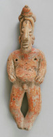 Male Figure, Jalisco culture, Pre-Columbian, earthenware and pigment