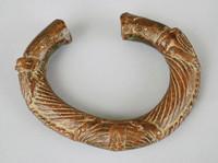 Bracelet, Bamana people, Mali, African, brass