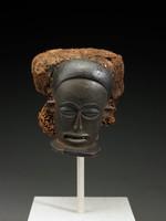 Mask, Chokwe people, Angola, African, wood, fiber