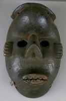 Deformity Mask (Idiok Ekpo), Ibibio people, Nigeria, African, wood