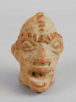 Head, Koma culture, Ghana, Sisili/Kulpawn River Basin, Ghana, African, fired clay and slip
