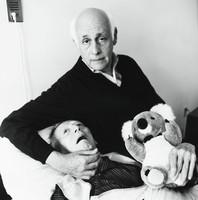 Sheldon I. Reid Holding Richard H. Mackay, Bruce Davidson, silver print