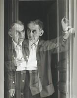Portrait of Man Ray, Ed Willis Barnett, gelatin silver print