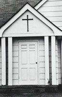 Church, Gordon Parks, silver print