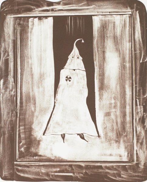 Ghost Image, William Christenberry, Published by Rolling Stone Press, lithograph