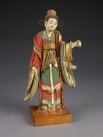 Birth of Buddha, China, clay, pigment, gold