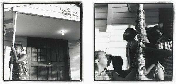 Hide and Seek, Weeping Mary, Texas, O. Rufus Lovett, gelatin silver print