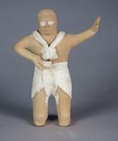 Ballplayer, Maya culture, Jaina Island, Pre-Columbian, fired clay and slip
