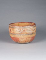 Bowl, Maya culture, Guatemala, Pre-Columbian, fired clay and slip