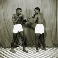 Boxers, Abdourahmane Sakaly, gelatin silver print