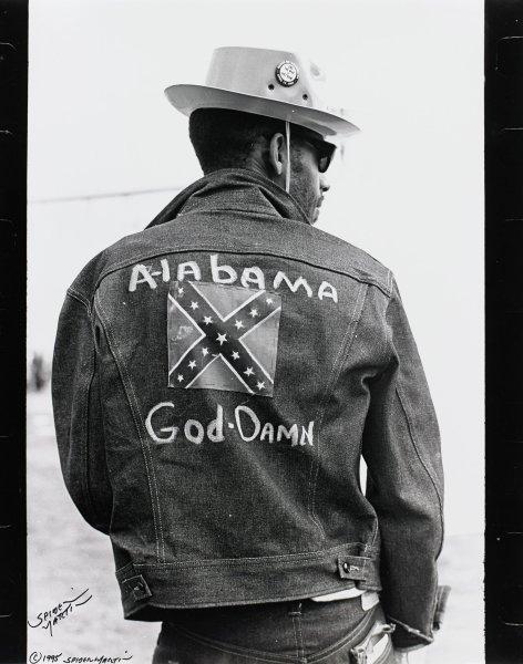 "Alabama God-Damn, James ""Spider"" Martin, gelatin silver print"