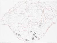 Creating Peace 4, Richmond Burton, crayon on paper