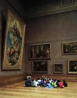 Musée du Louvre II, Thomas Struth, color coupler print