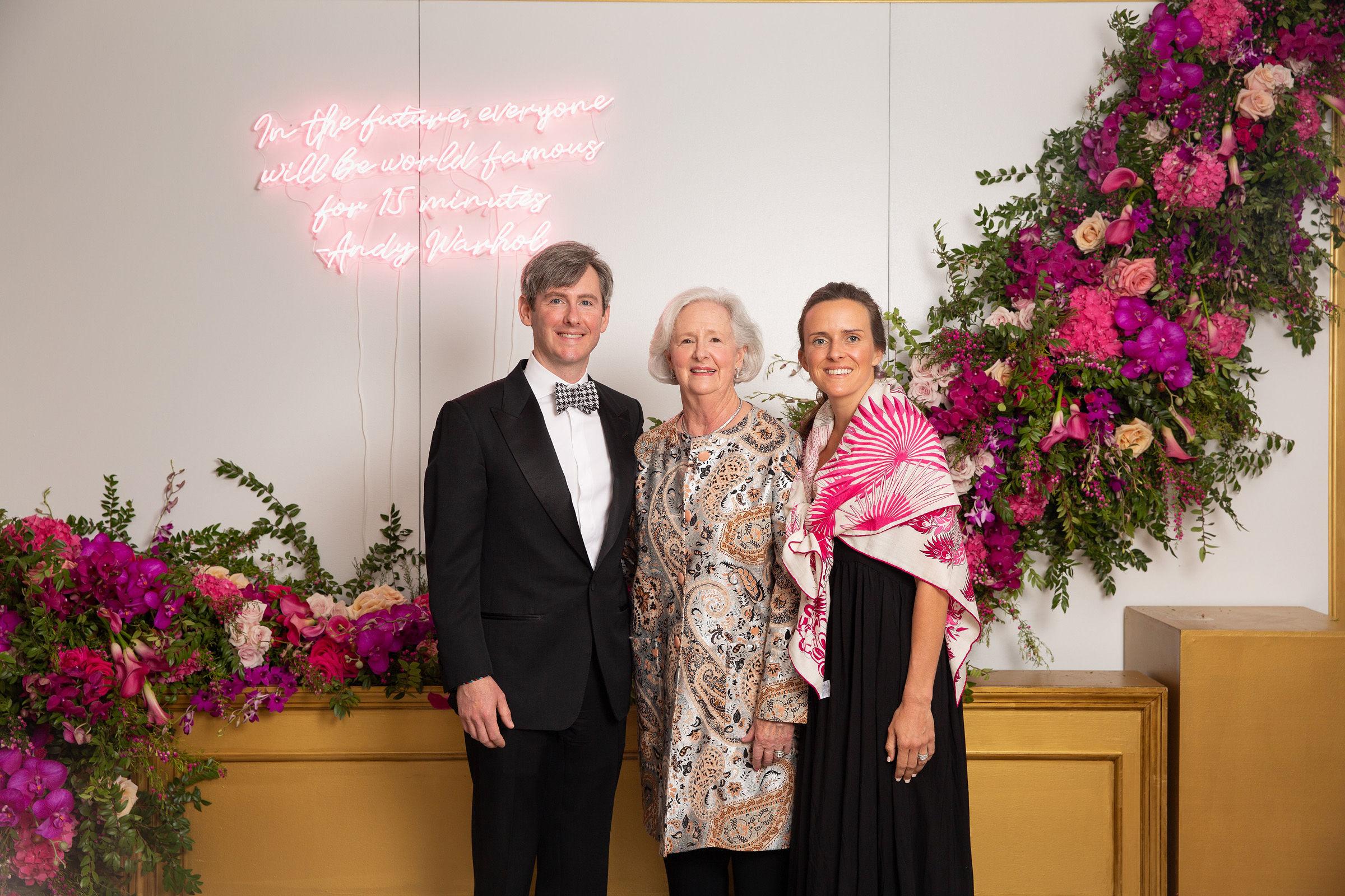 Peter Curtin, Susan Curtin, and Emma Curtin