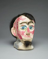 Portrait head of Abraham Lincoln