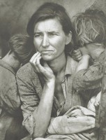 Migrant Mother, Nipomo, California, Photograph by Dorothea Lange, Photogravure by Jon Goodman, photogravure