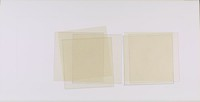 A large horizontal rectangle containing red, yellow, and blue outlined cream-colored squares.