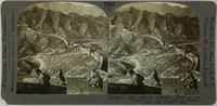 Stereo view of the Great Wall.