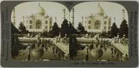 The Taj Mahal, Agra, India, Keystone View Company, gelatin silver prints mounted on card