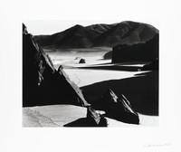 Garapata Beach, California, Brett Weston, gelatin silver print