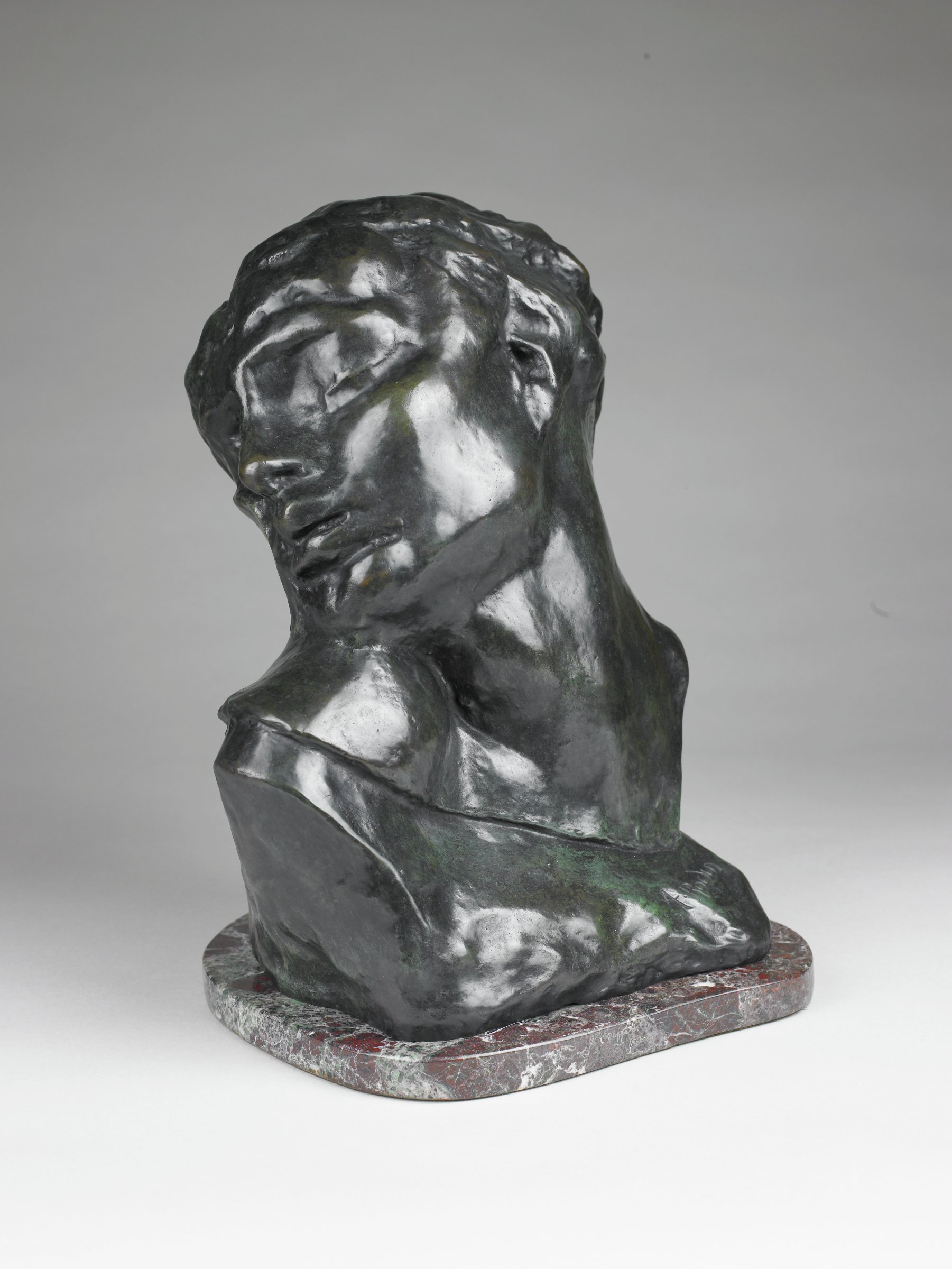 Head of Lust, Auguste Rodin, cast bronze