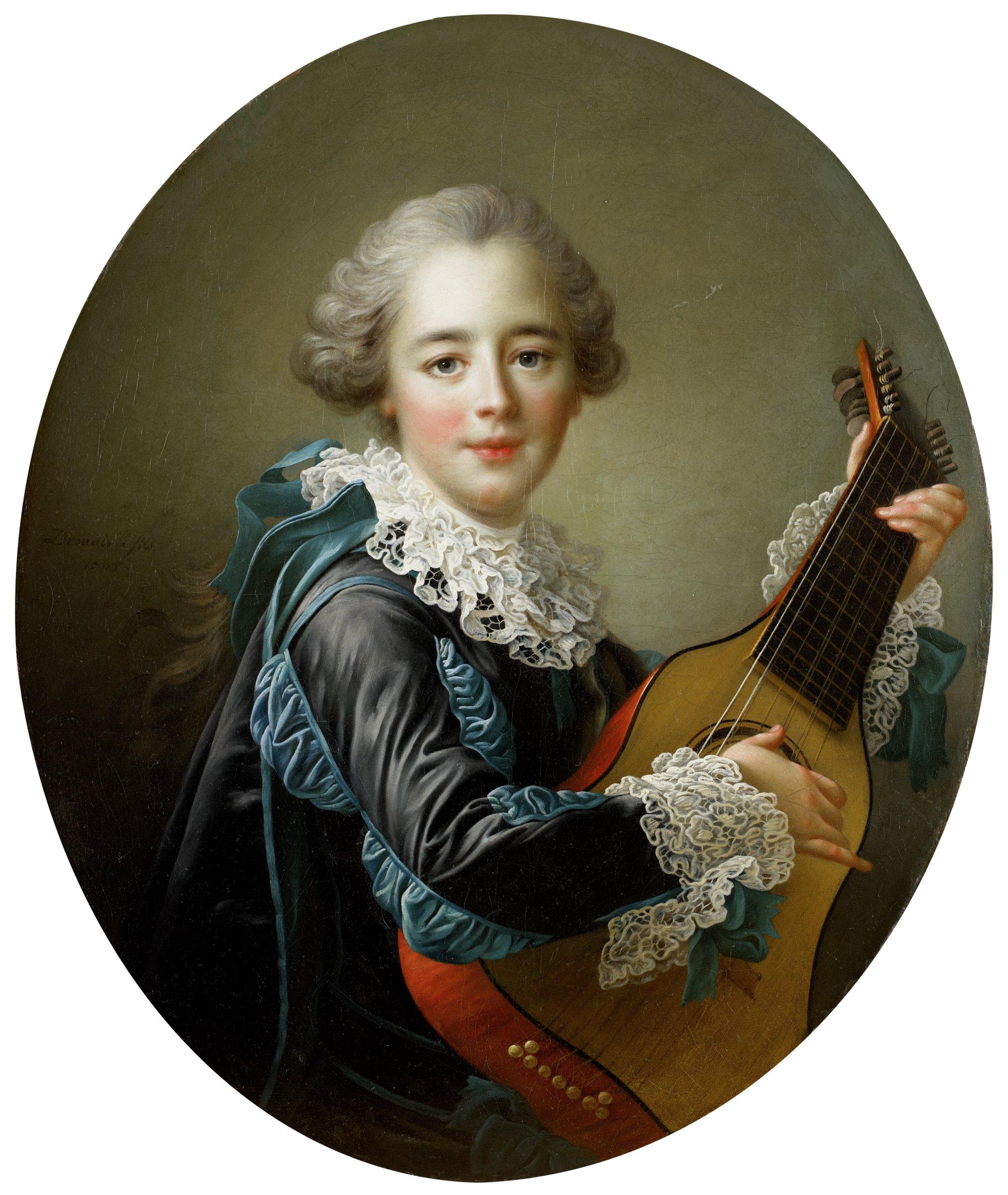 Carlos Fernando FitzJames-Stuart, Marquess of Jamaica, François-Hubert Drouais, oil on canvas