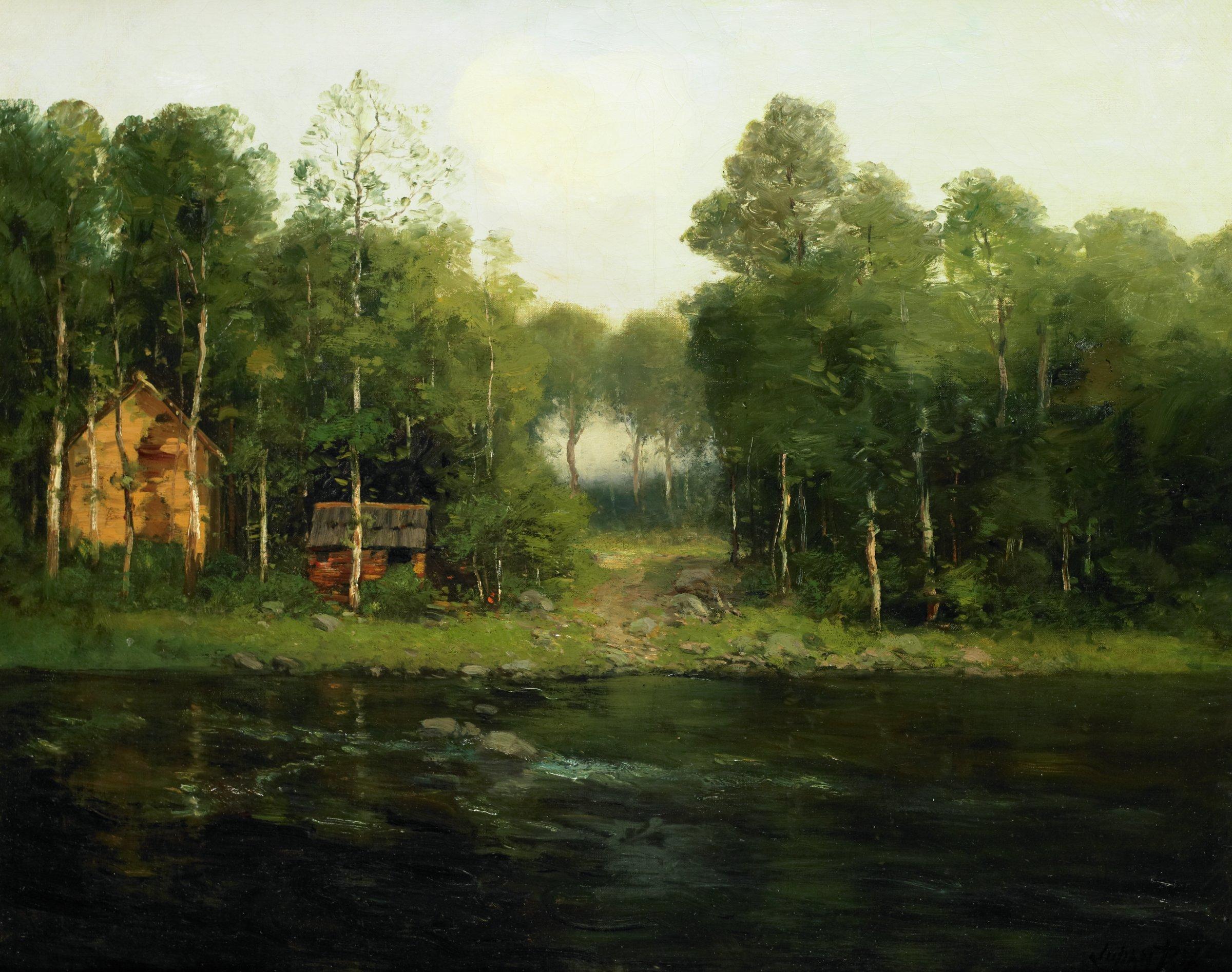 Landscape, Julian Walbridge Rix, oil on canvas