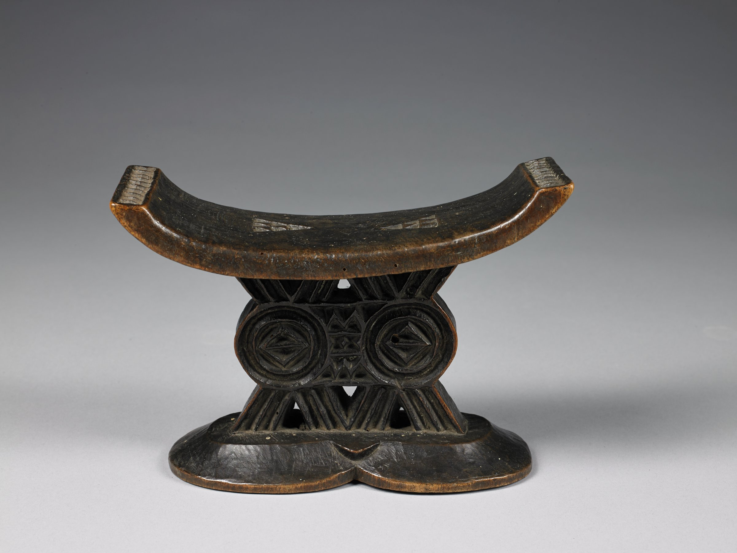 Neckrest, Mashona people, Zimbabwe, African, wood