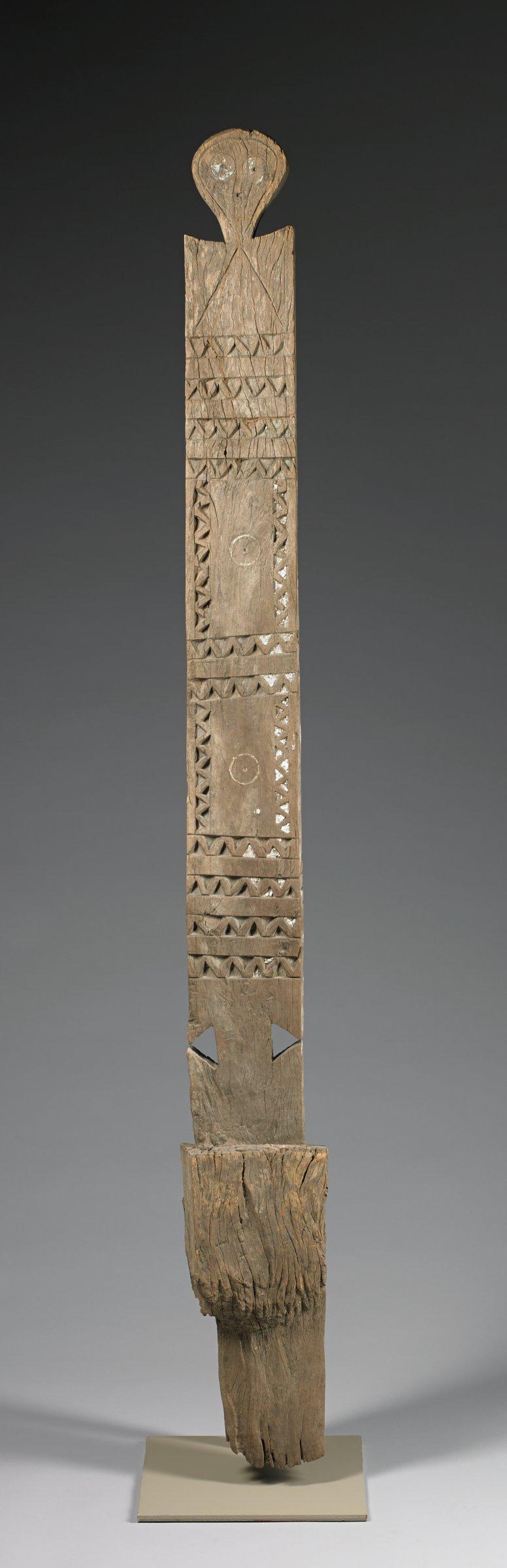 Funerary Post (Kigango), Giriama people, Mijikenda group, Kenya, African, wood