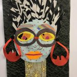 Afrofuturism Collage