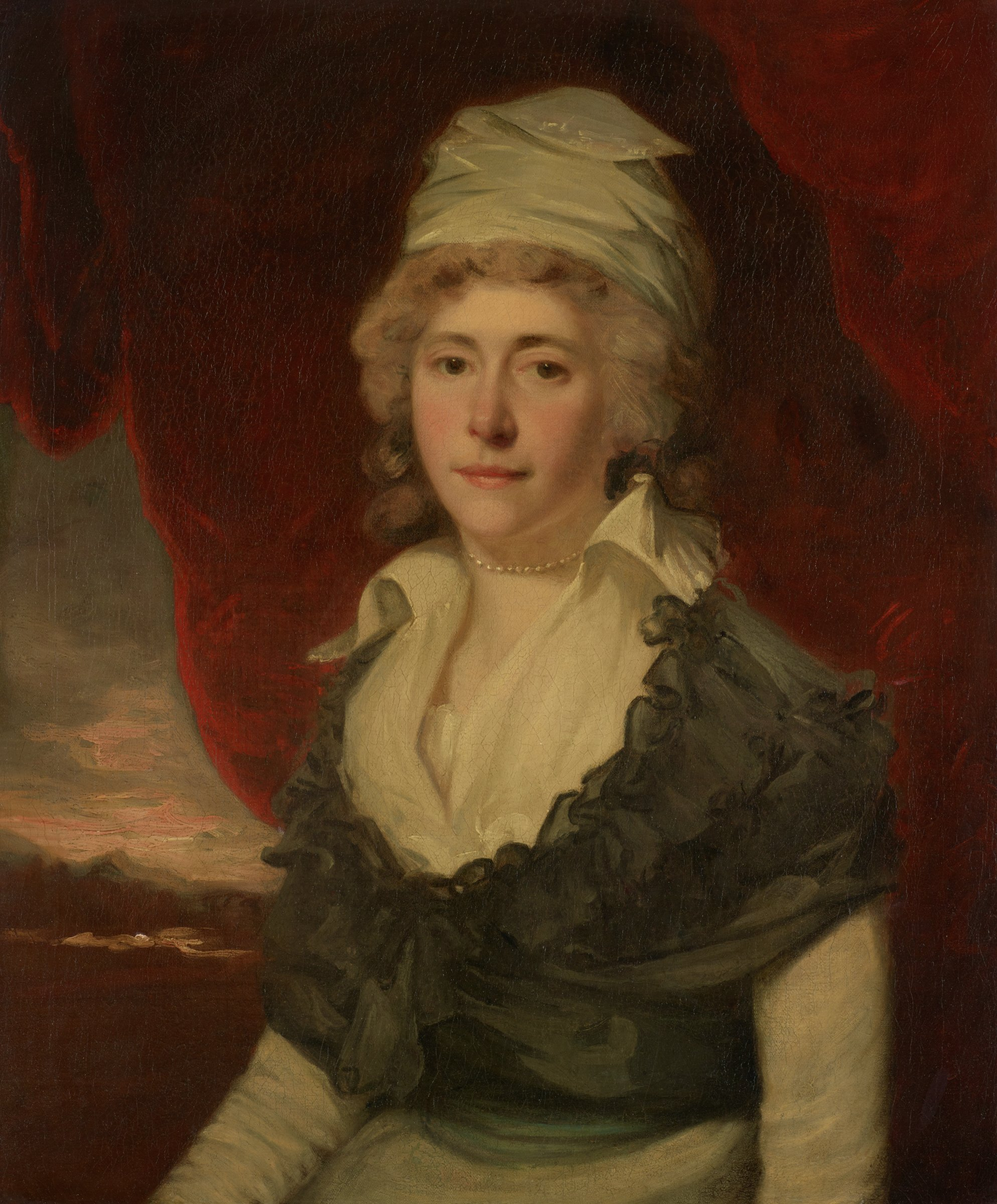 Mrs. Moncrieff, John Hoppner, oil on canvas