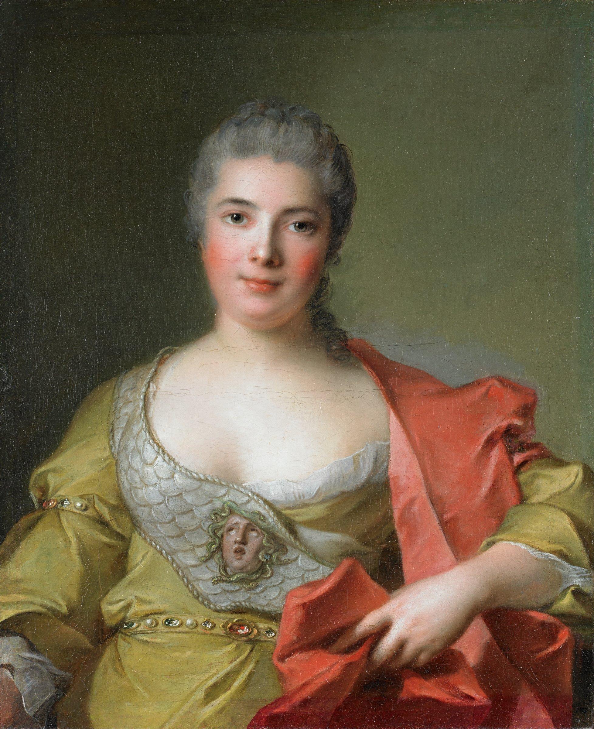 Adelaïde-Julie Mirleau de Neuville, Jean-Marc Nattier, oil on canvas