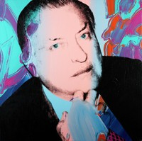 Portrait of Charles Ireland, Andy Warhol, photo silkscreen and acrylic on canvas