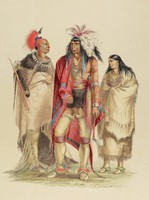 North American Indians, George Catlin, lithograph