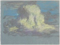 Clouds?, Lucille Douglass, pastel