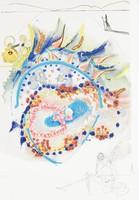 Bird of Paradise, Salvador Dali, color lithograph