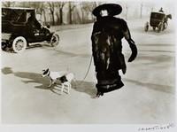 January 15, Paris Avenue du Bois de Boulogne, Jacques Henri Lartigue, gelatin silver print