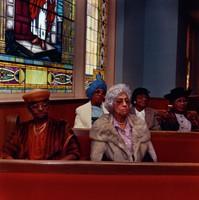 Parishioners, 16th Street Baptist Church, Bruce Davidson, C print