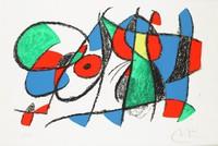Composition, Joan Miró, lithograph