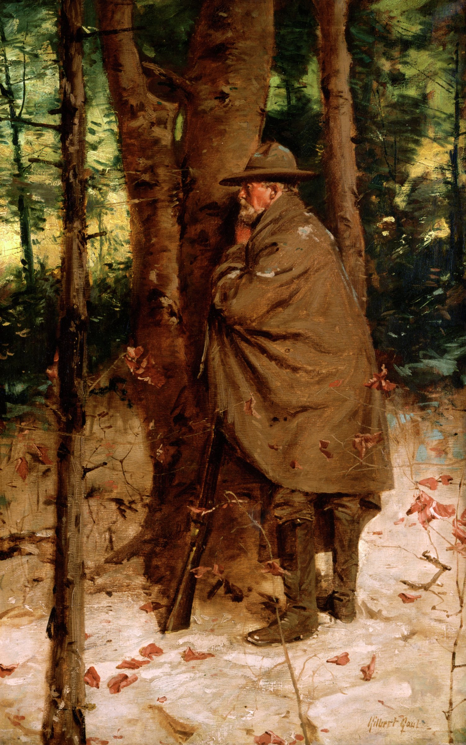 The Picket, William Gilbert Gaul, oil on canvas