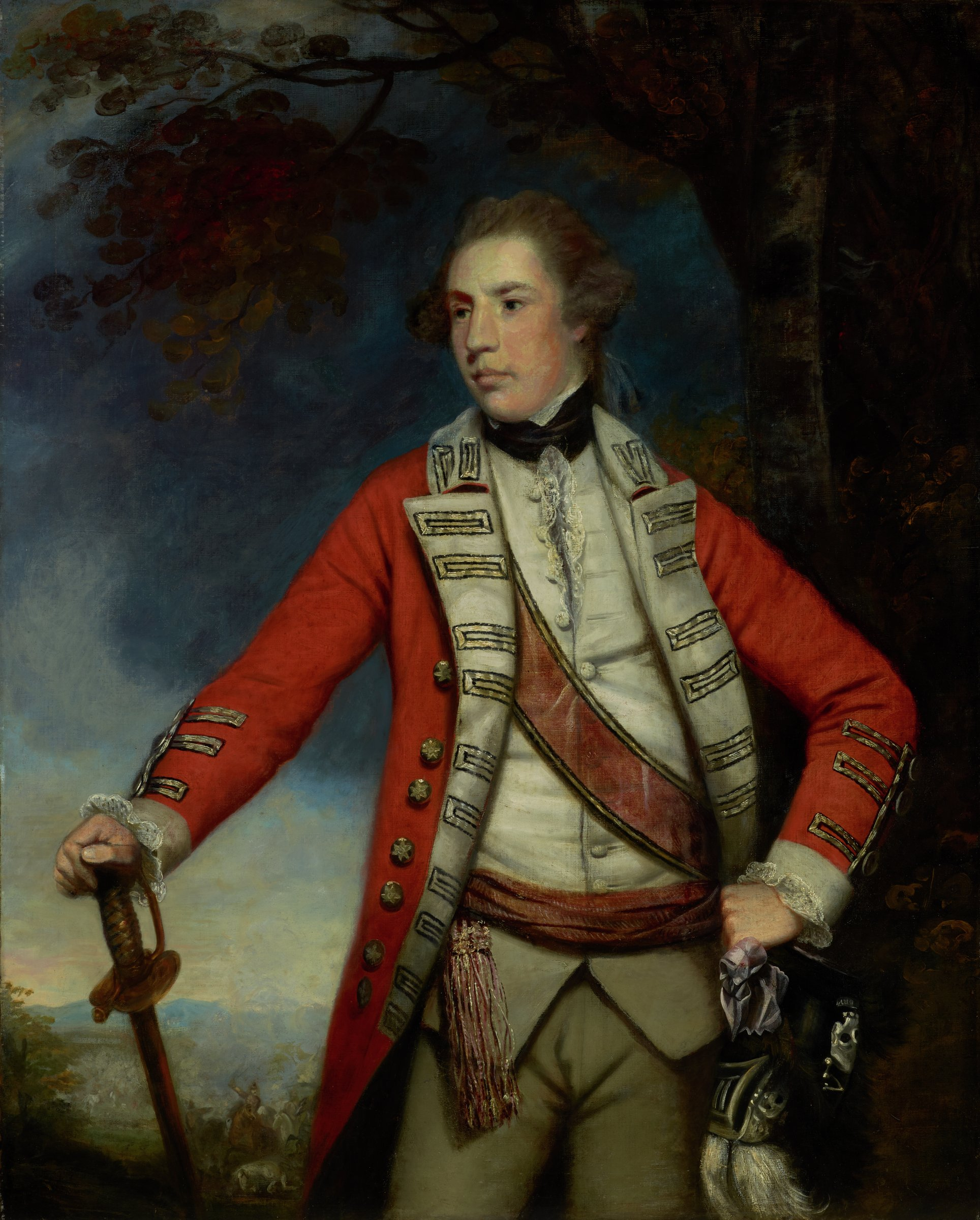 Captain Arthur Blake, Sir Joshua Reynolds, oil on canvas