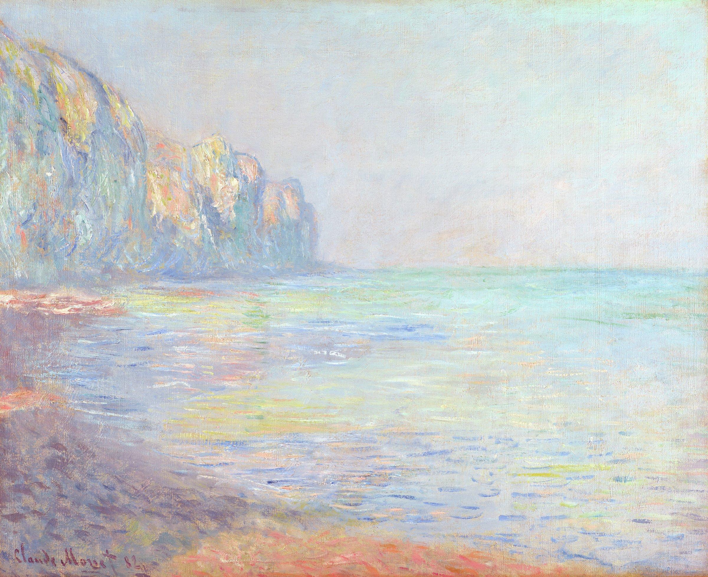Le Matin, temps brumeux, Pourville (Foggy Morning at Pourville), Claude Monet, oil on canvas