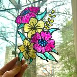 Craft Tuesday // Glass Paintings