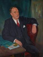 Portrait of Jack B. Smith, Lemuel S. McDaniel, oil on canvas