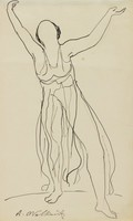 Isadora Duncan, Abraham Walkowitz
