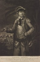 Col. Arnold, J. Martin Will, Published by Thomas Hart London, mezzotint