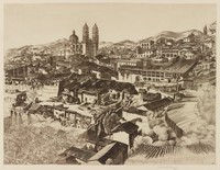Light and Shade, Taxco, from Miniature Series, John Taylor Arms, etching