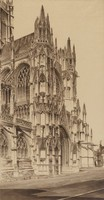 Memento Vivere, North Transept, Cathedral of Evreux, John Taylor Arms, etching