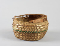 Basket, Probably Northwest Coast, Native American, grass fiber