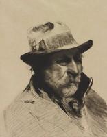 French Fisherman, Cadwallader Lincoln Washburn, etching